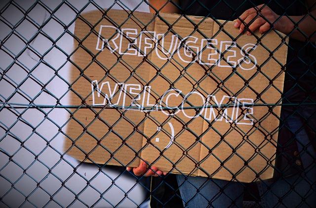 La triste vida de los refugiados continua