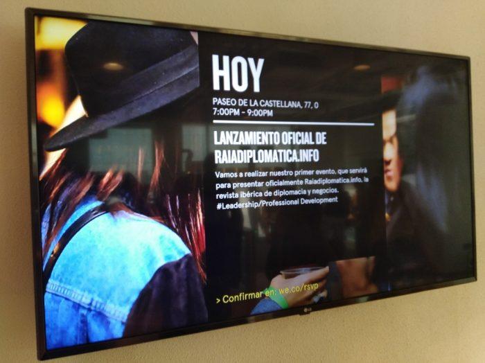 Raiadiplomatica.info ya fue presentada en Madrid