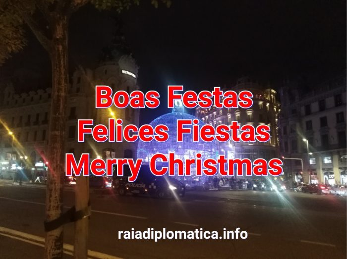 Raia Diplomática desea Felices Fiestas
