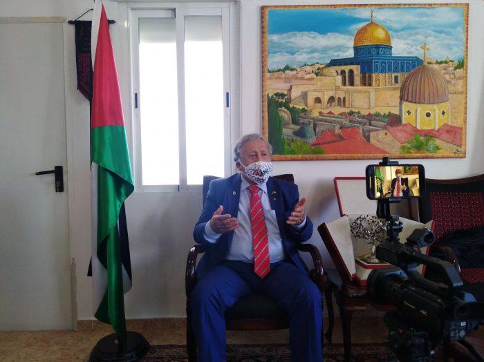 Palestina quiere contribuir para el desarrollo del mundo