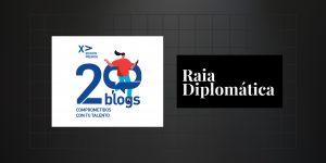 Raia Diplomática es finalista a los Premios 20Blogs